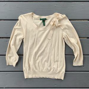[ SOLD ] Lauren Ralph Lauren Silk Blend Sweater